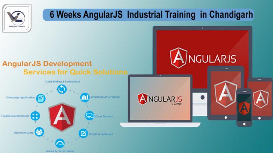 6 Weeks AngularJS Industrial Training in Chandigarh - Webliquidinfotech