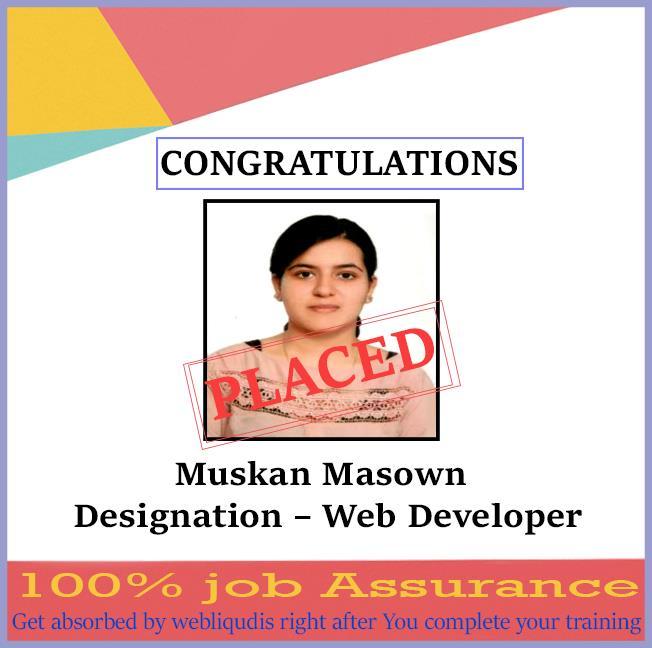 web designing training institute - webliquidinfotech