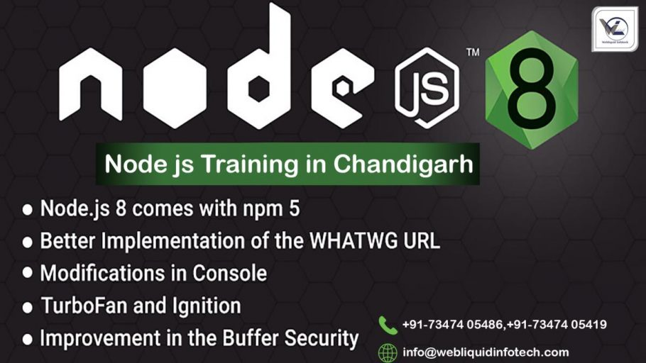 Node.JS Training in Chandigarh - Webliquidinfotech