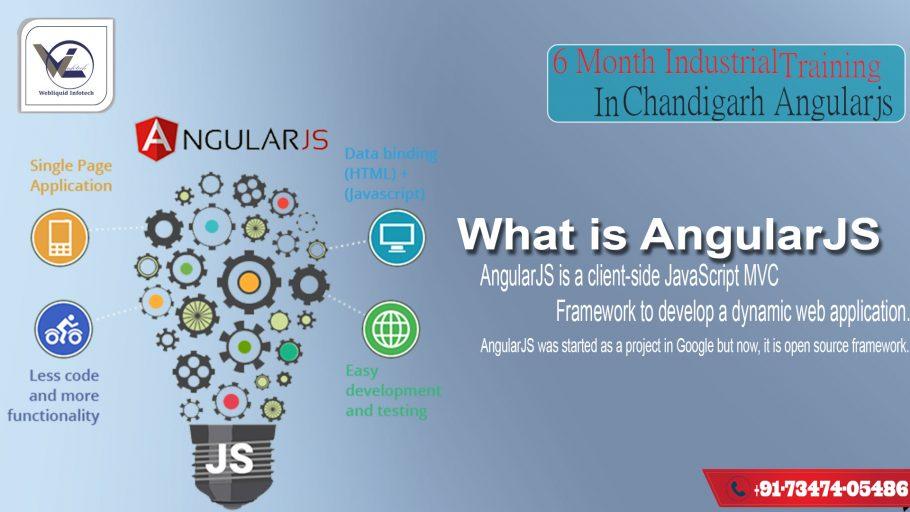 6 months AngularJS industrial training in Chandigarh - Webliquidinfotech