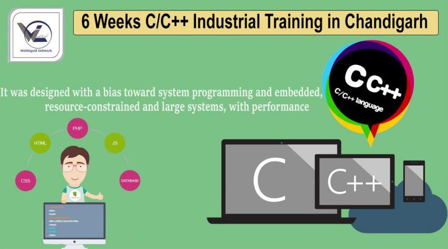 6/Six Weeks python industrial training in Chandigarh - Webliquidinfotech