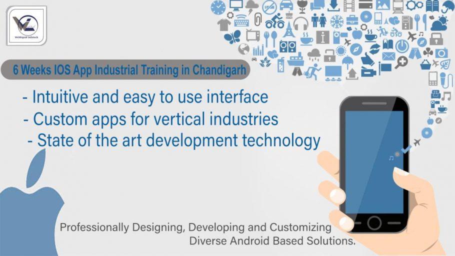 6/six weeks ios industrial training in Chandigarh - Webliquidinfotech