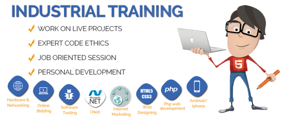 industrial training - Webliquidinfotech