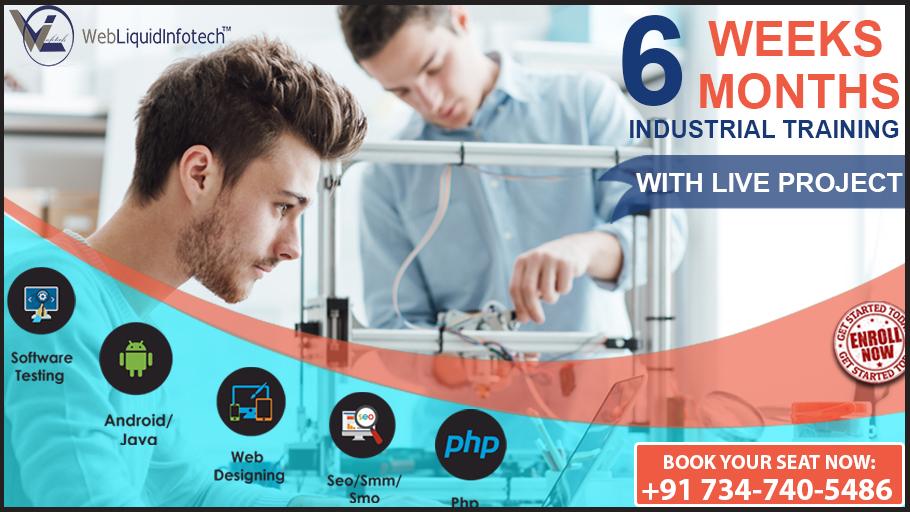 Industrial Training in Chandigarh - webliquidinfotech