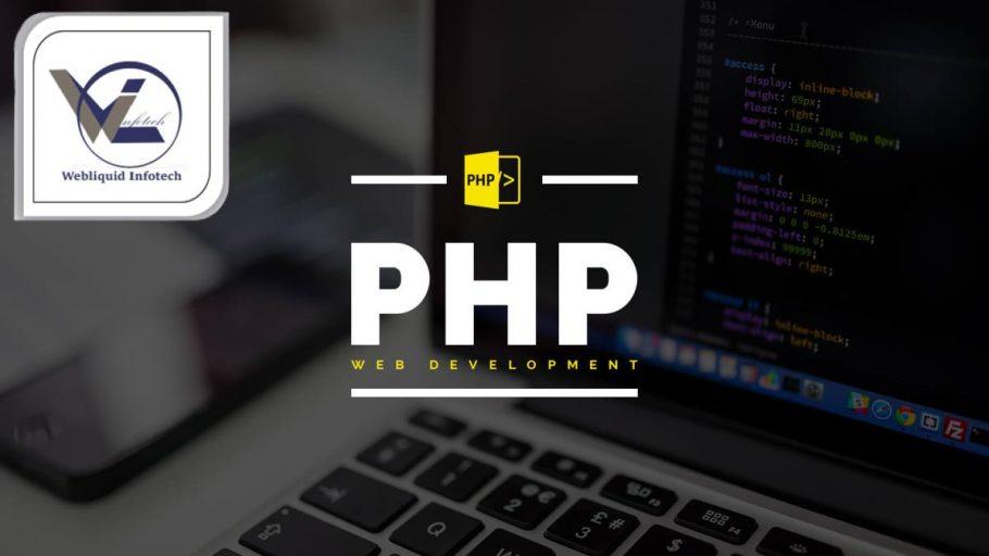 PHP-training-in-chandigarh - Webliquidinfotech